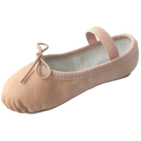 Dancina Premium Leather Ballet Slipper/Ballet Shoes Full Sole (Toddler/Little Kid)