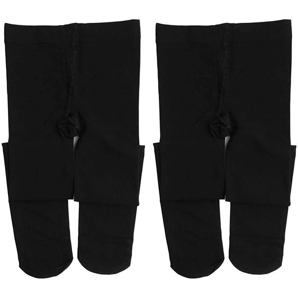 Dancina Ballet Dance Tights Footed - Ultra-soft Pro Excellent Hold & Stretch (Toddler / Girls / Women)