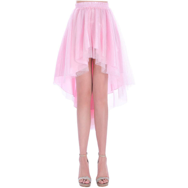 high low tulle skirt