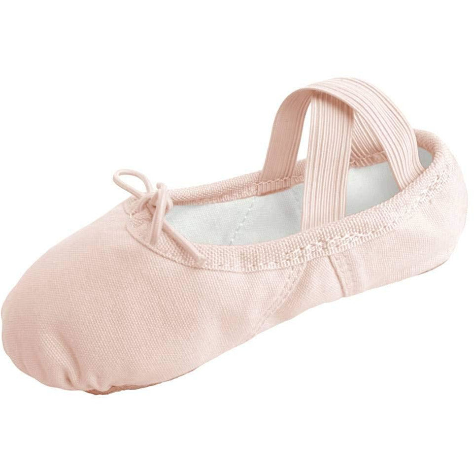 Dancina Girls Canvas Ballet Slipper/Ballet Shoe/Dance Shoe (Toddler/Little Kid)