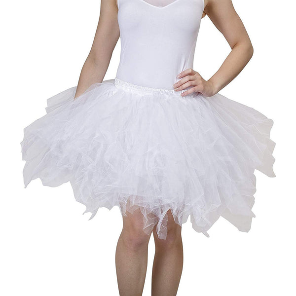 White Tutu Skirt for Adults