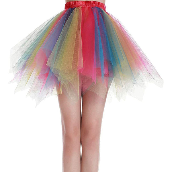 Dancina Women Rainbow Tutu