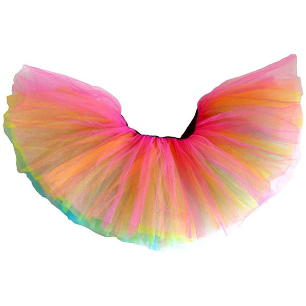 Dancina Classic Adult Tutus 3, 5 Layered Tulle Tutu Skirt for Women & Girls
