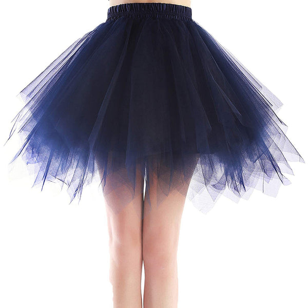 Tutu Plus Size Navy Blue