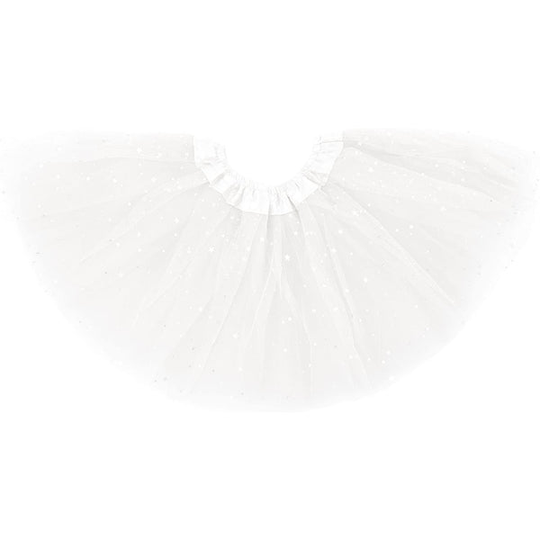 girl tutu skirt white