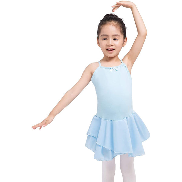 Dancina Camisole Ballet Leotard Dress for Girls