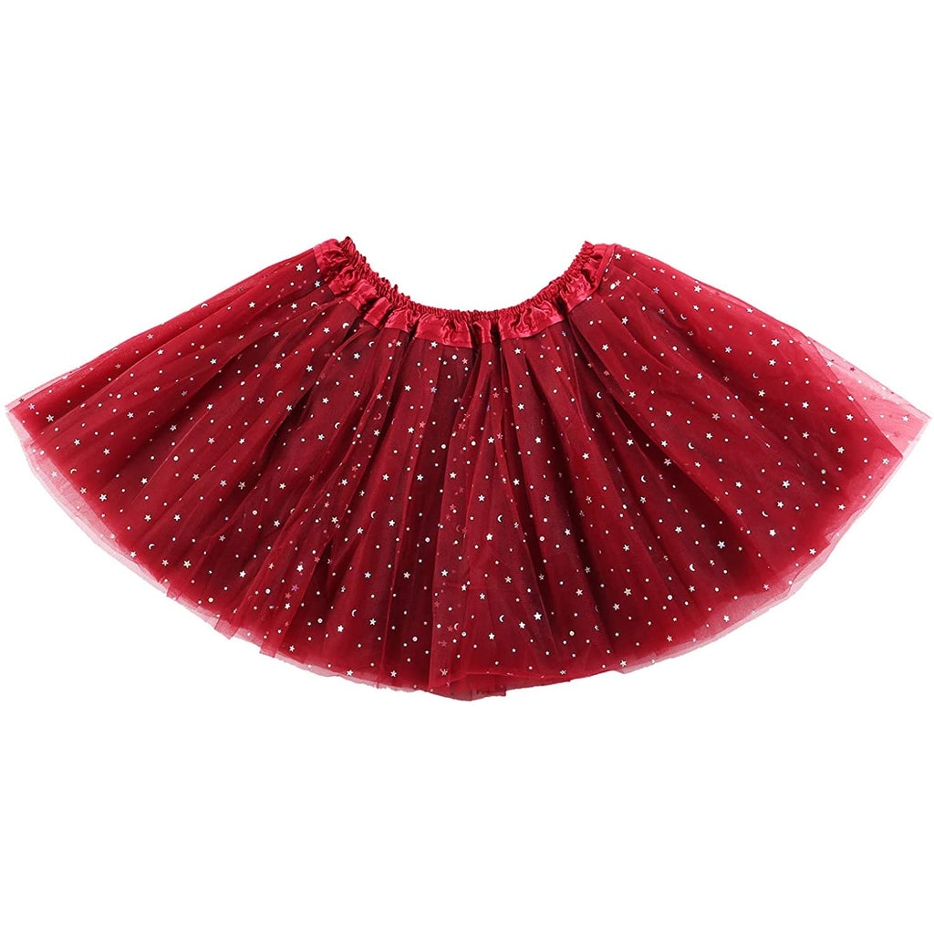 girl tutu skirt winered