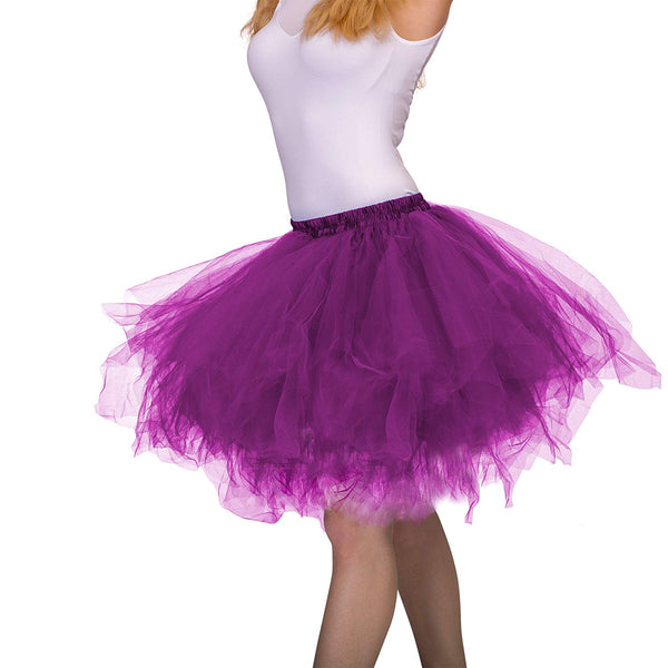 Tutu Skirt for Adults Purple