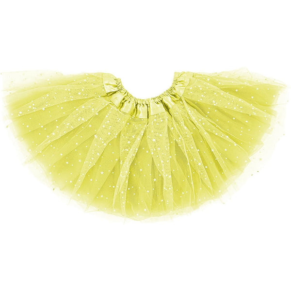 girl tutu skirt yellow