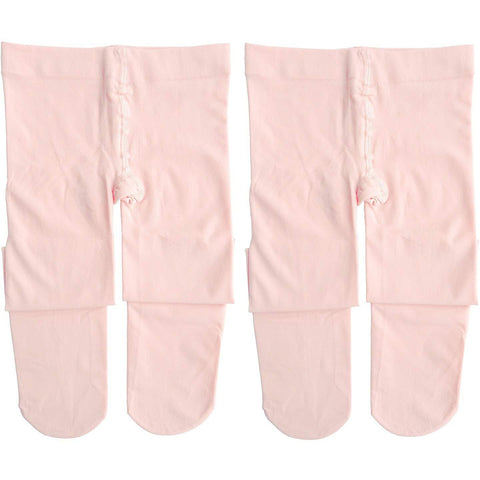 Dancina Ballet Dance Tights Footed in Ballet Pink