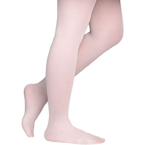 Dancina Girls' Students Footed Ballet Dance School Tights (Toddler/Little Girls/Big Girls) in Ballet Pink