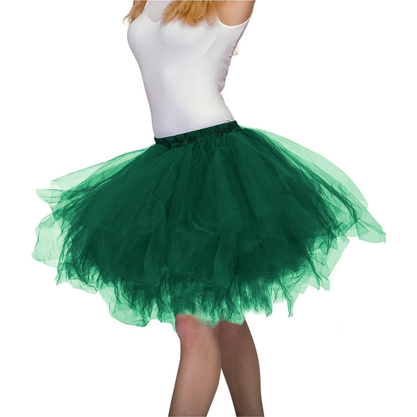Tutu Skirt Plus Size Green