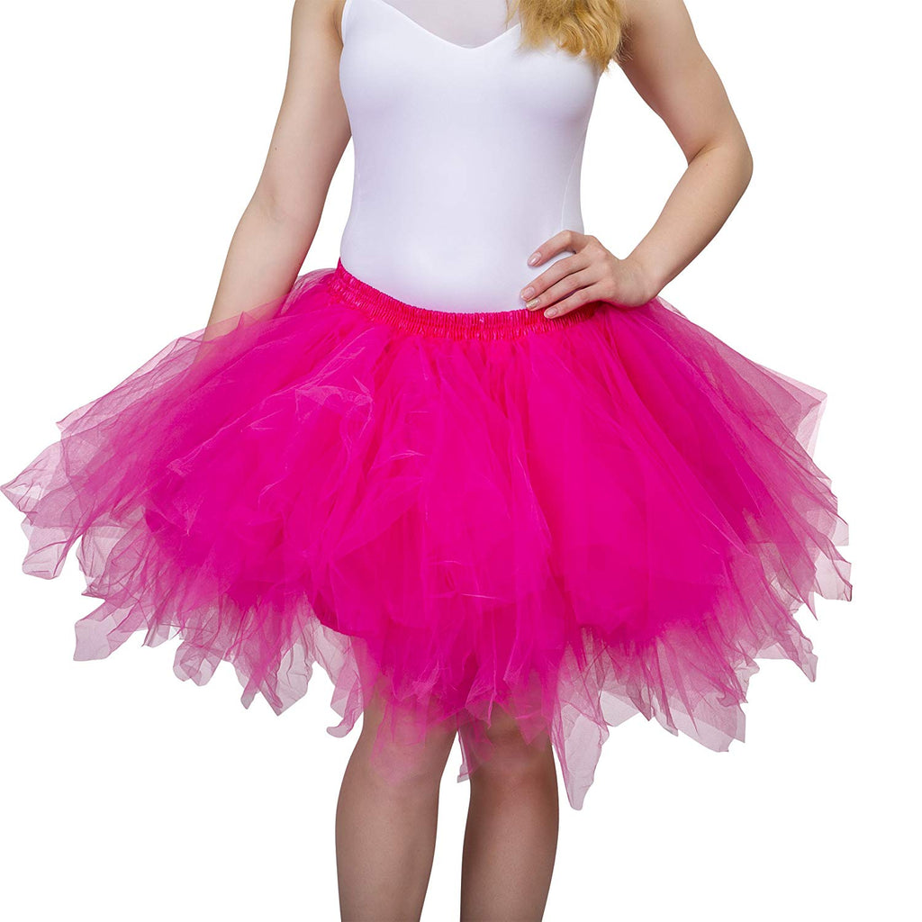 97aa73a585 Dancina Adult Tutu 50's Vintage Petticoat Tulle Skirt for Women  Regular/Plus Size w/ ...