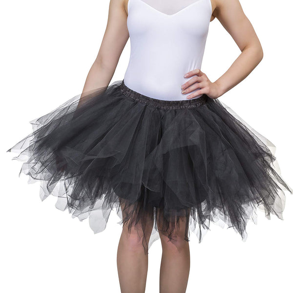 Black Tutu Skirt for Adults