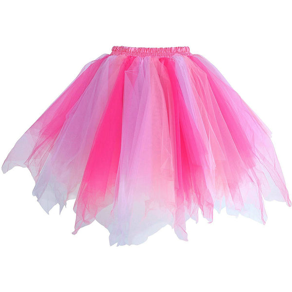 Tutu Skirt for Adults Coral Fuchsia