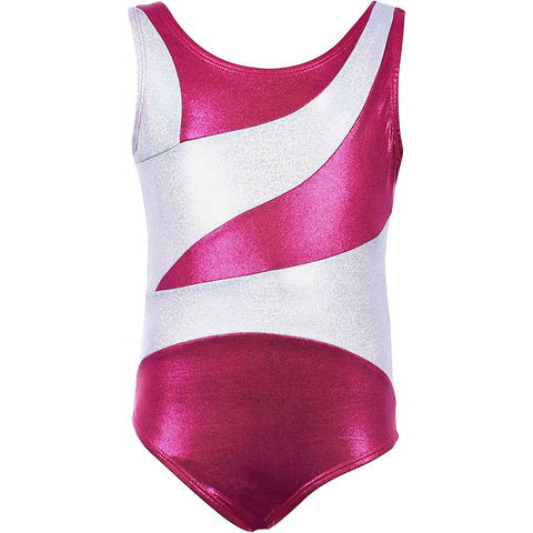 "Gymnastics Leotards for Girls ""Gem Pink"" (Ages 3-12)"