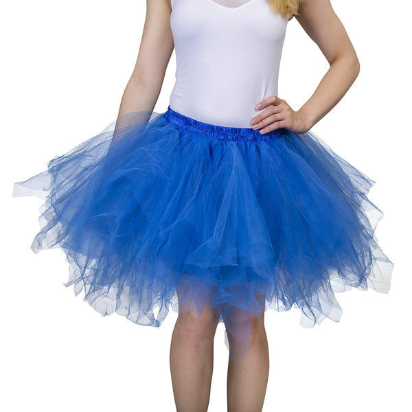 Blue Tutu Skirt for Adults Plus Size