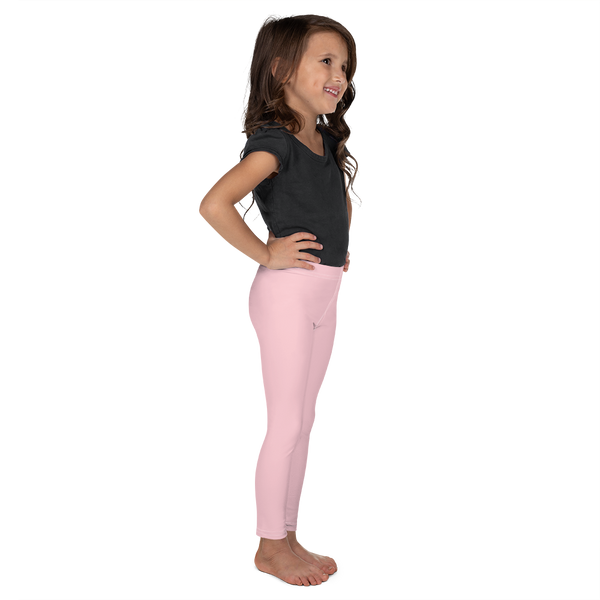 Little Girls' Leggings in Ballet Pink
