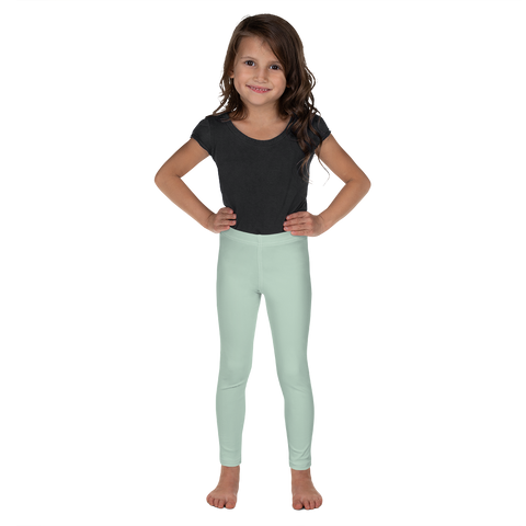 Dancina Halloween Little Girls' Leggings in Mint Green