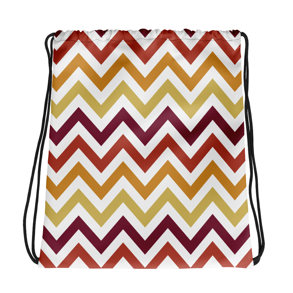 """Funky Stripes Vol.II"" Drawstring Bag"