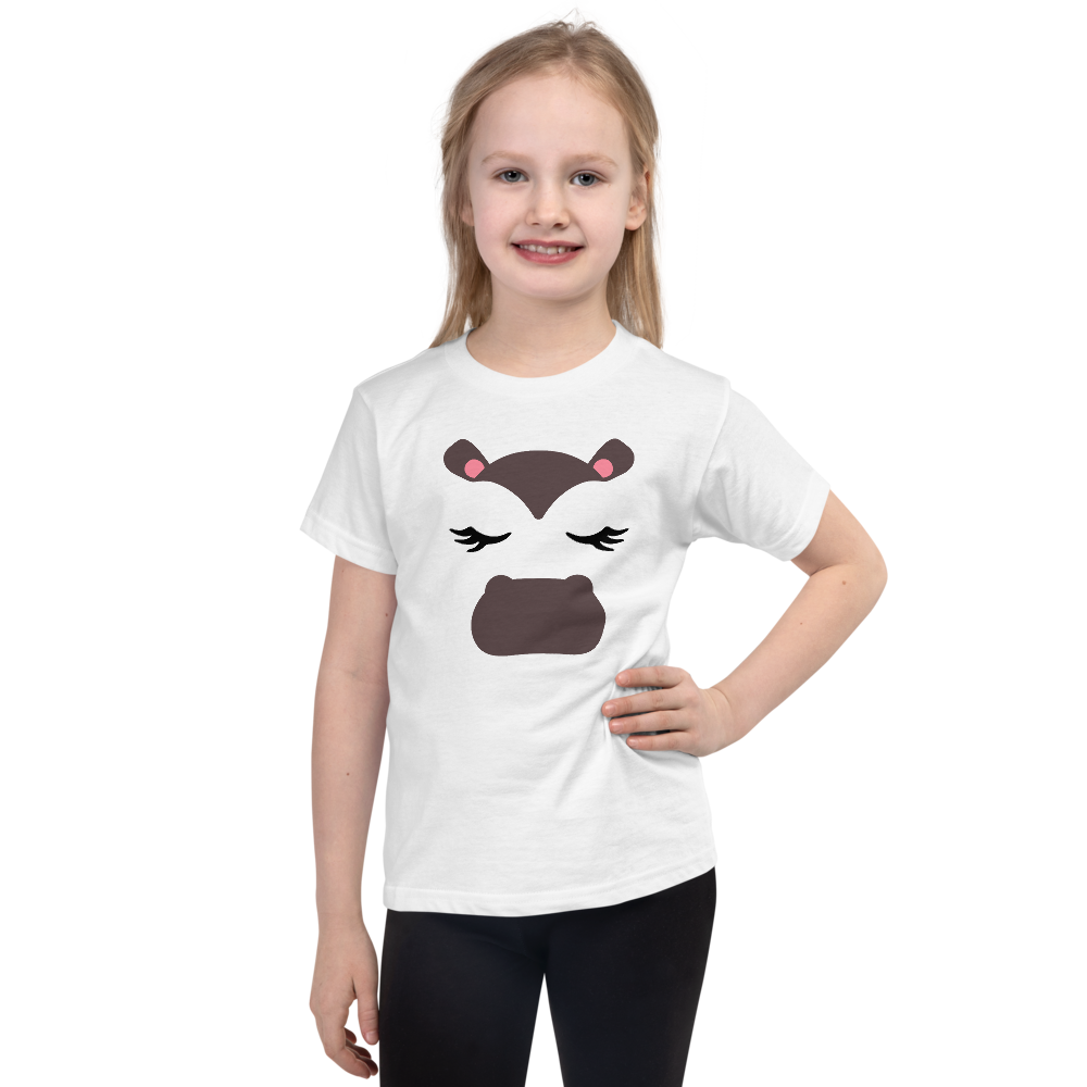 "Dancina Little Girls Short-Sleeve Halloween T-Shirt ""Baby Hippo"""