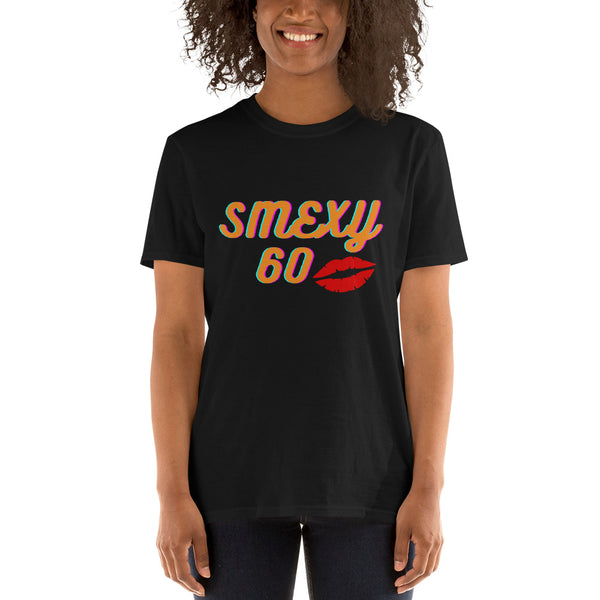 "Dancina Women's Short-Sleeve 60th Birthday T-Shirt ""Smexy 60"""