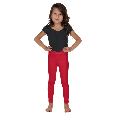 Dancina Halloween Little Girls' Leggings in Rouge Red