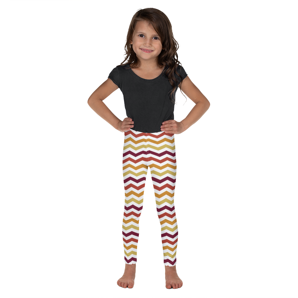 """Funky Stripes Vol. I"" Girls Leggings"