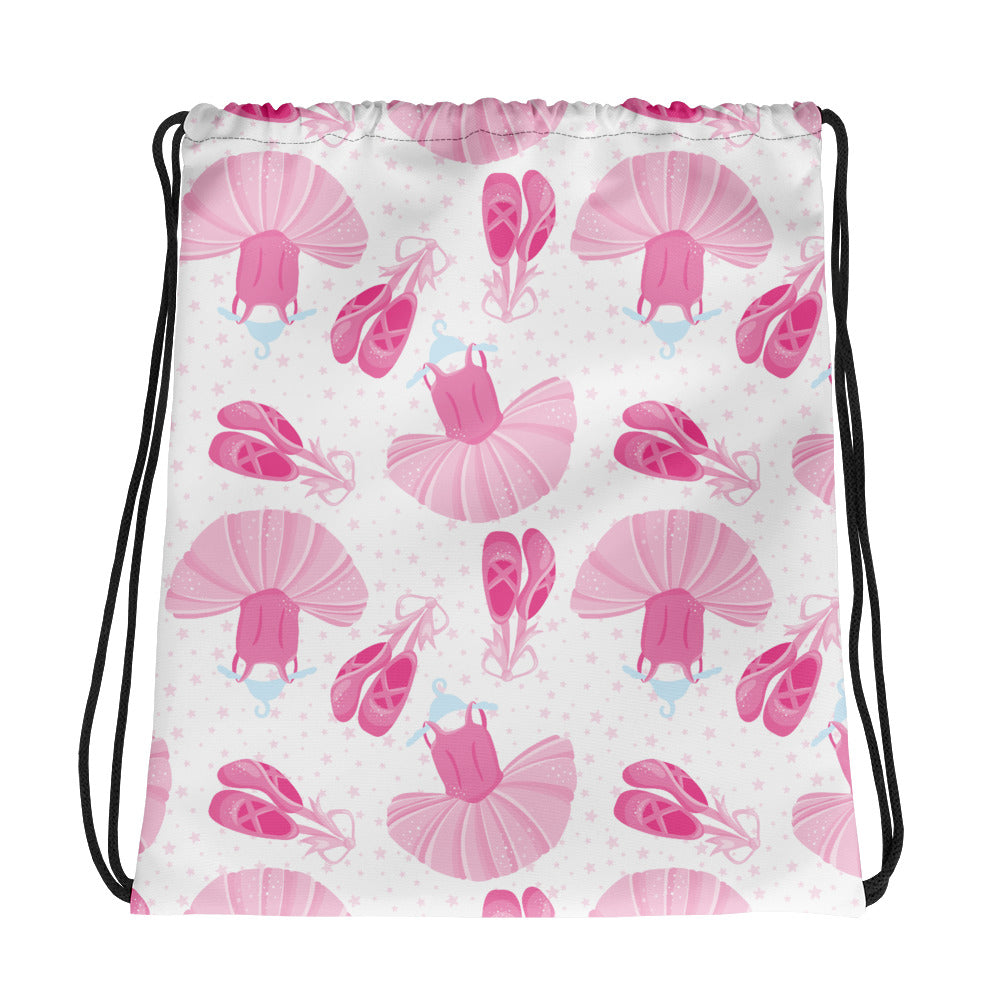 Ballet Everything Drawstring Bag