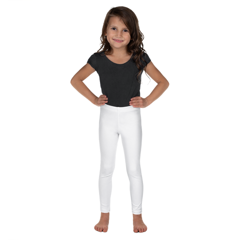Dancina Halloween Little Girls' Leggings in White