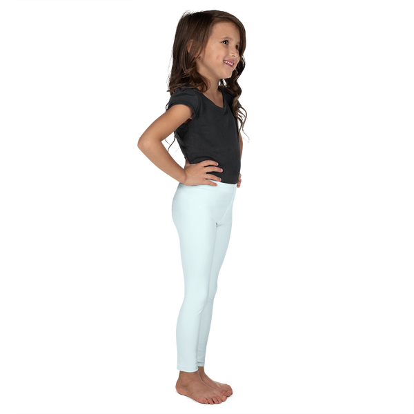 Little Girls Leggings in Icy Blue