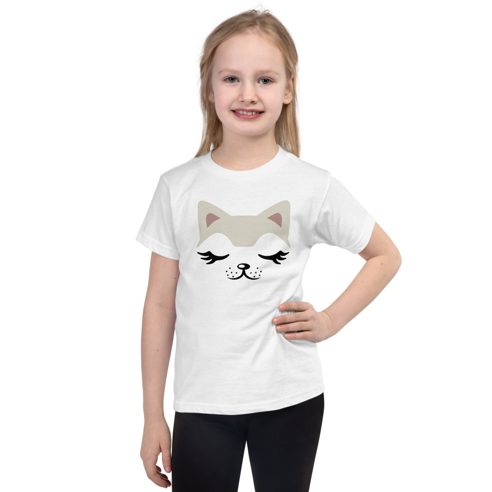 "Dancina Little Girls Short-Sleeve Halloween T-Shirt ""Baby Cat"""