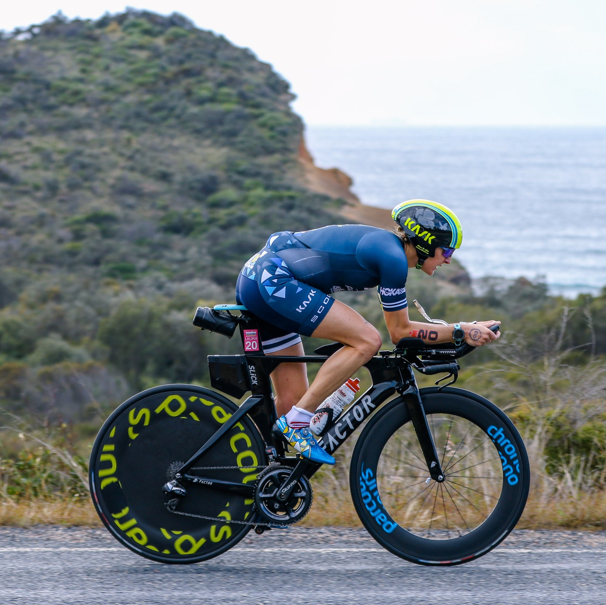 Victory down under: Laura Siddall talks through the win at Ironman Australia