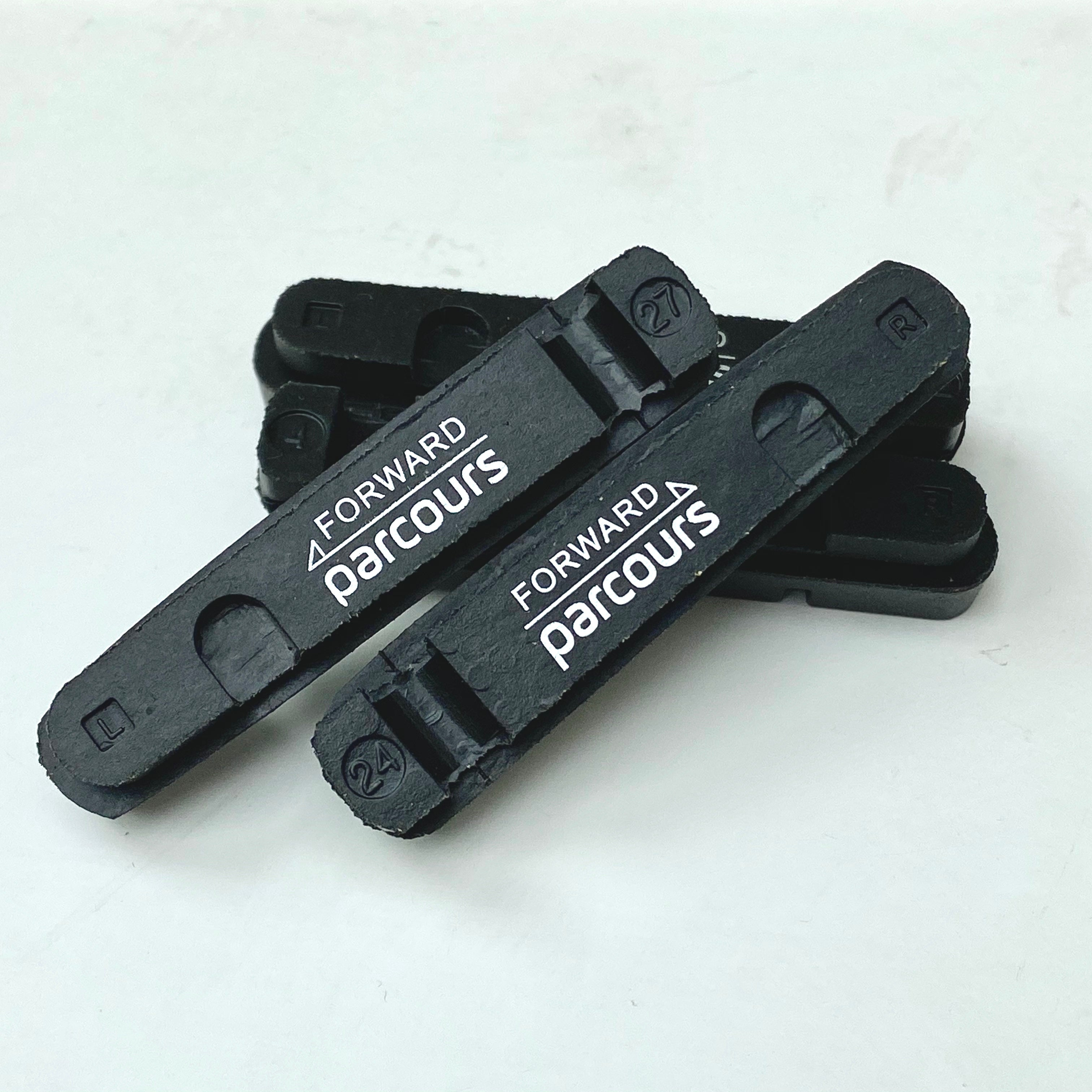 Parcours carbon-specific brake pads (set of 4)