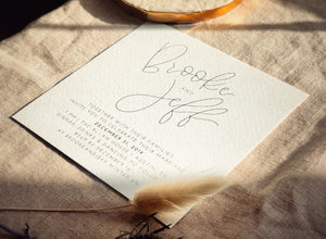 Wedding Invitations & Save the Dates