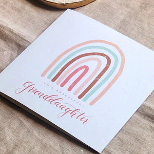 Grandchild greeting card
