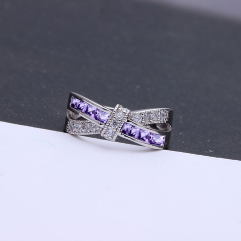 Fibromyalgia Awareness Band Ring