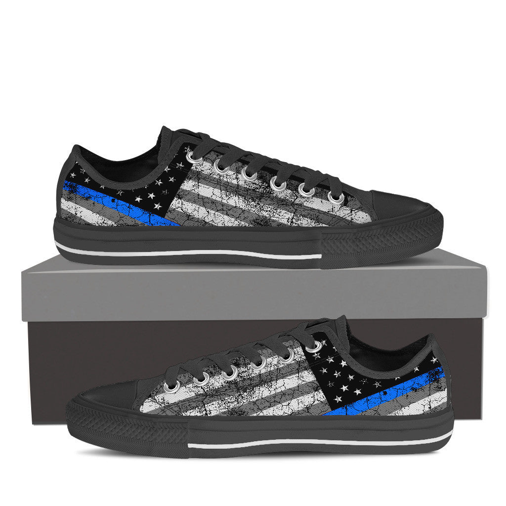 Thin Blue Line low-top Sneaker