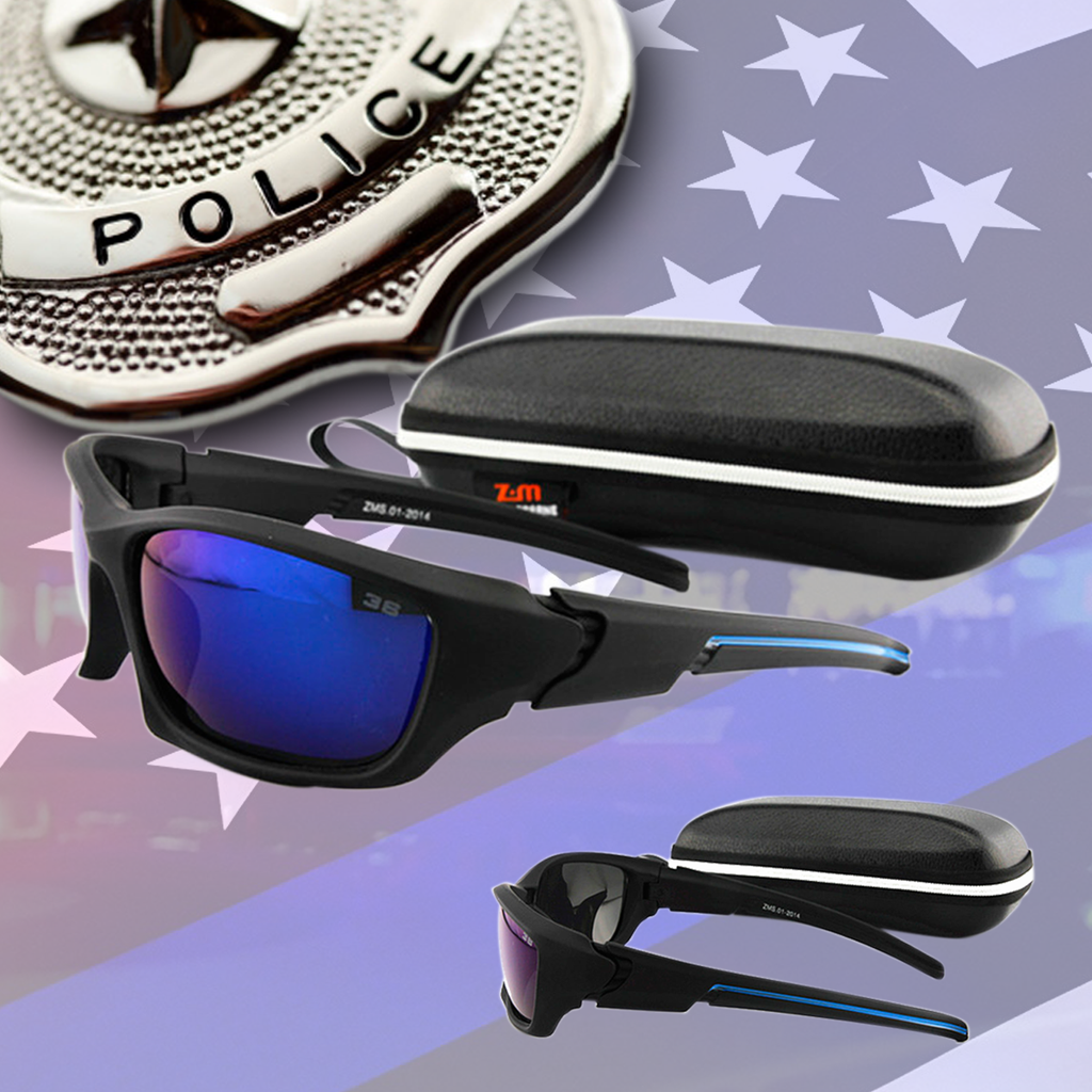 Thin Blue Line inspired Eyewear