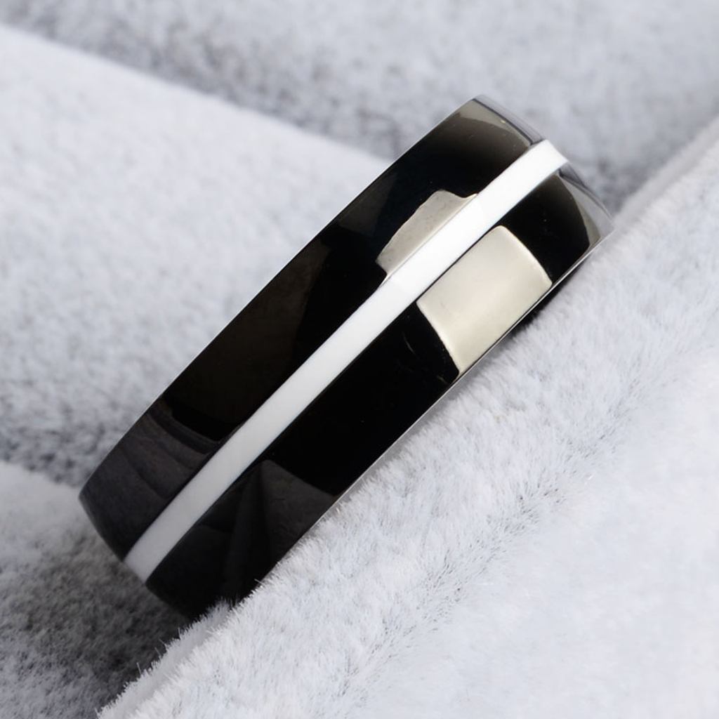 [Limited Edition] Thin White Line Ring
