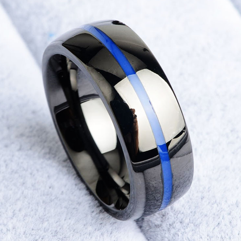 [Limited Edition] Thin Blue Line Ring