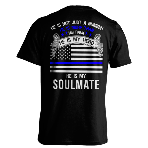 He Is My Soulmate - Thin Blue Line