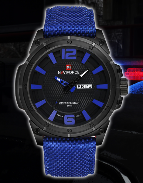 NV Thin Blue / Red Line inspired Watch