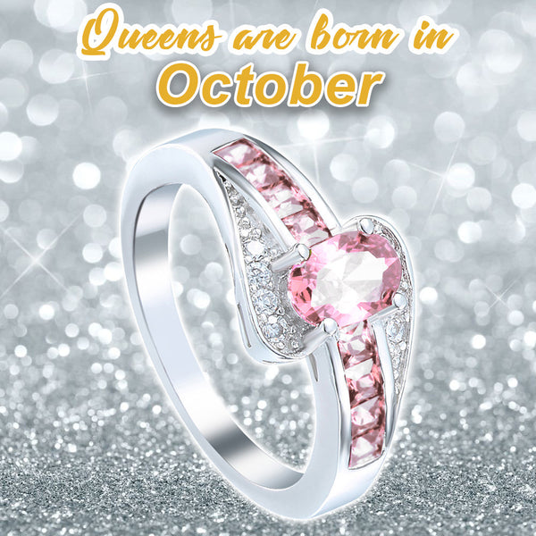 October Birthstone Ring