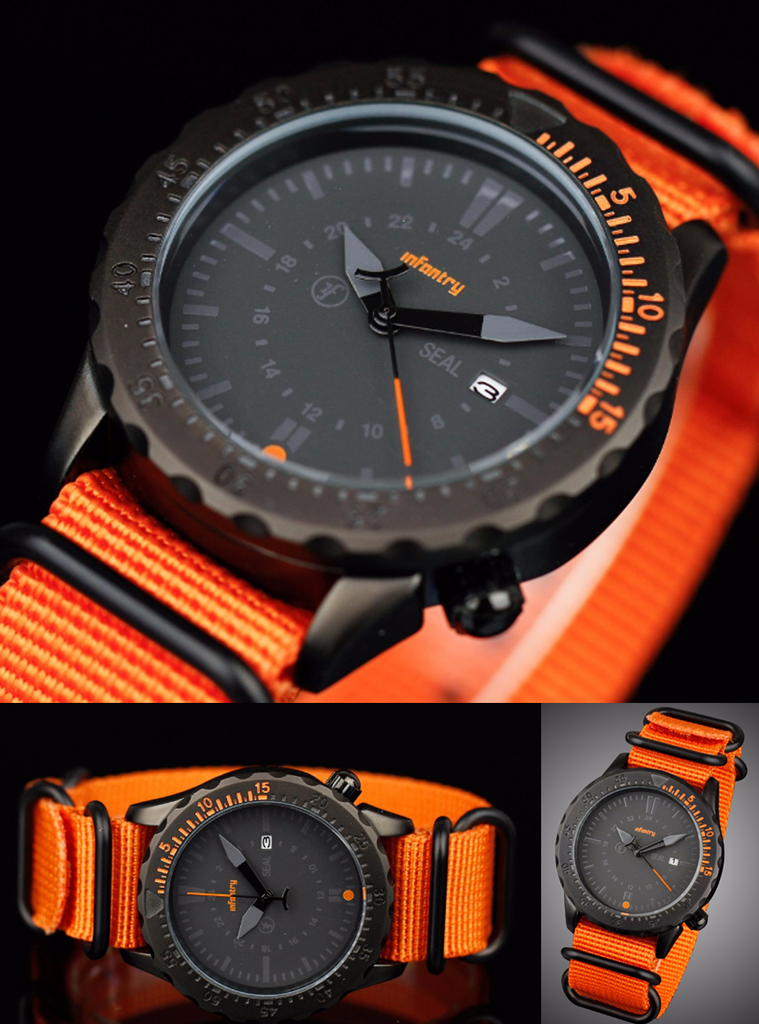 Search & Rescue inspired Watch