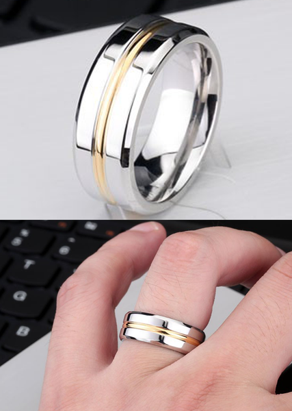 NEW* Thin Gold Line inspired Ring