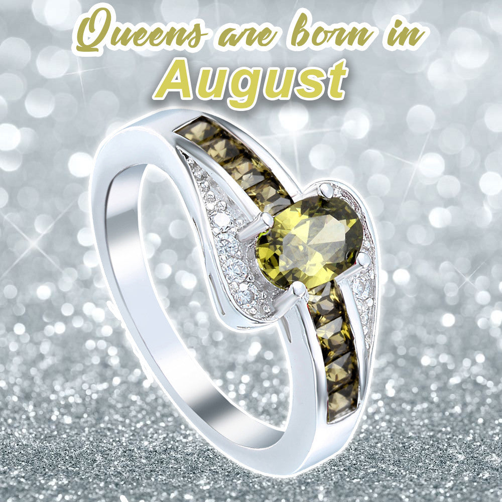 August Ring (Peridot Birthstone)