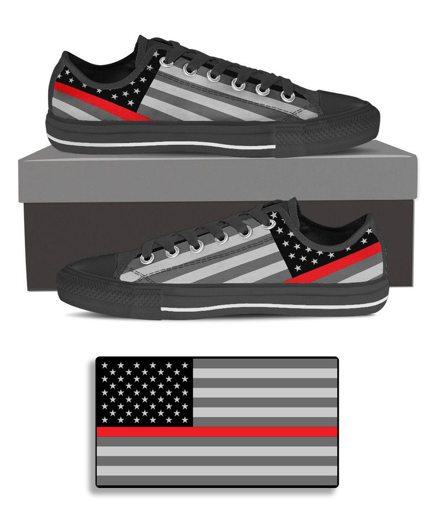 Thin Red Line inspired Sneaker