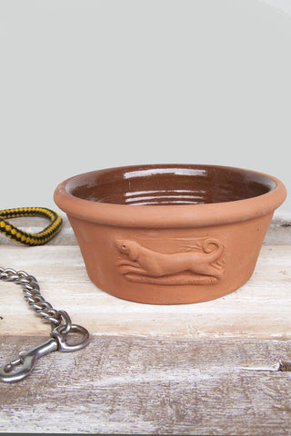 Terracotta Dog Bowl