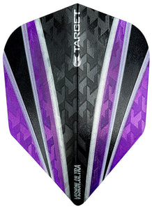 Target Vision Ultra Clear Purple 4 Sail Dart Flights